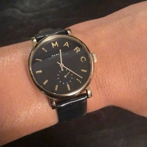 Black Marc Jacobs Watch